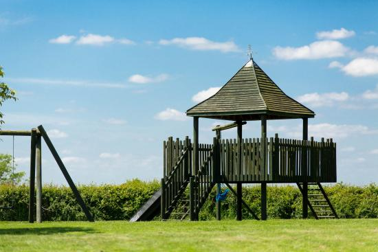 Wymondham, UK: Children's play area