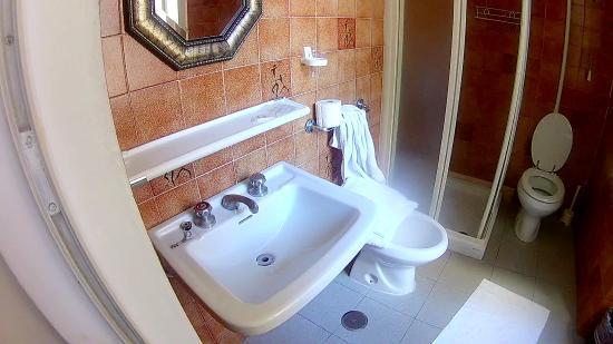 Hotel Genzianella: Cuarto de baño