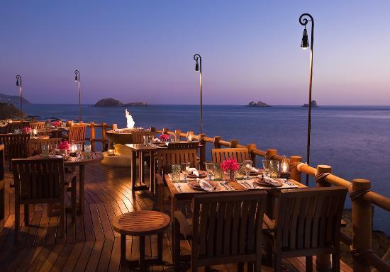 Capella Ixtapa: Restaurant Seafood Terrace