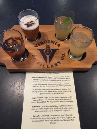 Lovingston, VA: Really enjoyed the cocktails at Virginia Distillery Company!
