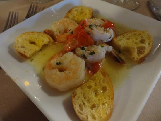 Chez Paul: Tuscan Shrimp