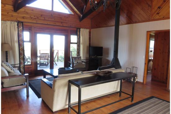 Kenton-on-Sea, Sudáfrica: The seating area in our lovely chalet