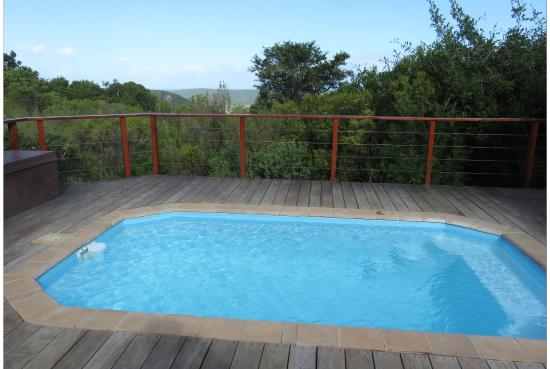 Kenton-on-Sea, Sudáfrica: Our private pool with our chalet