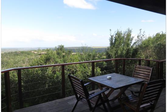 Kenton-on-Sea, Sudáfrica: The view from our rear verandah