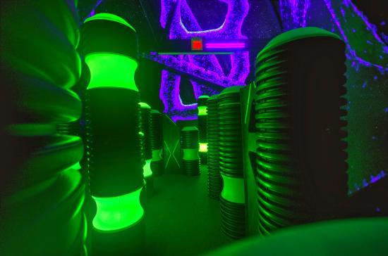 Aurora, IL: Multi-level Laser Tag.