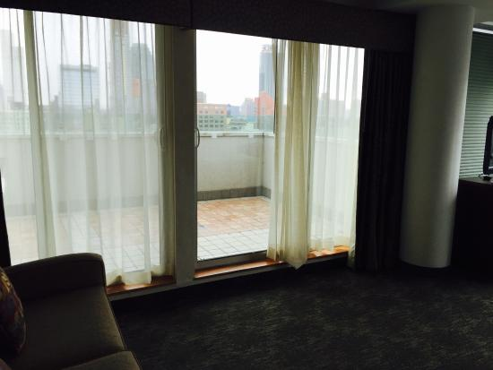 Holiday Inn L.I. City Manhattan View: Recent stay. Great room with view of the city