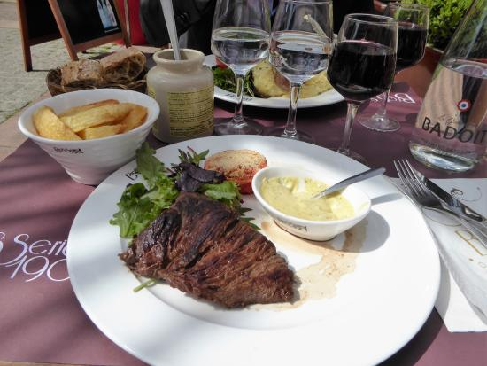 Courbevoie, Prancis: le grand cafe, simple et bon