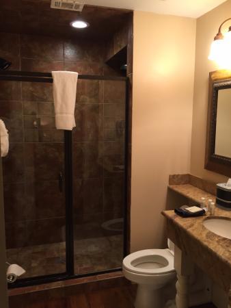 Jackson, MS: great shower
