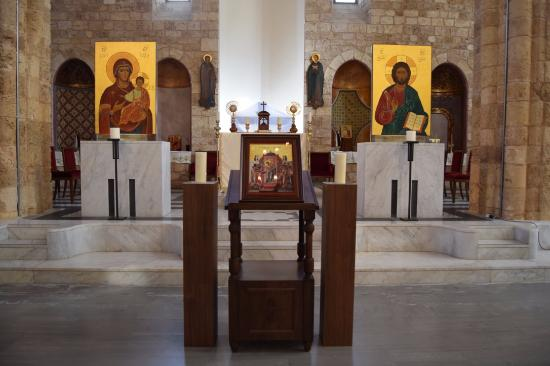 Cathédrale St Elie des Grecs-Catholiques: praying place