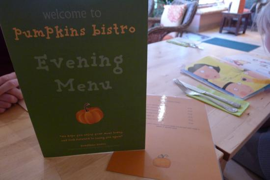 Kendal, UK: menu