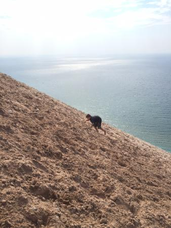that s how you hike up picture of sleeping bear dunes national rh tripadvisor com