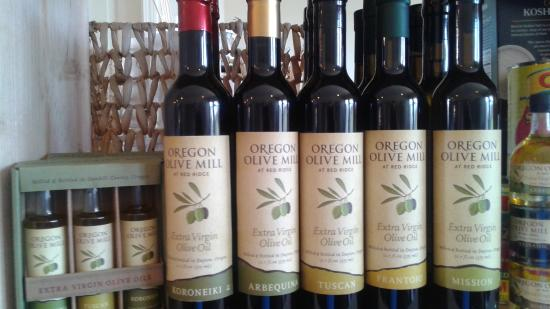 OK you will not find better olive oil that this, right from