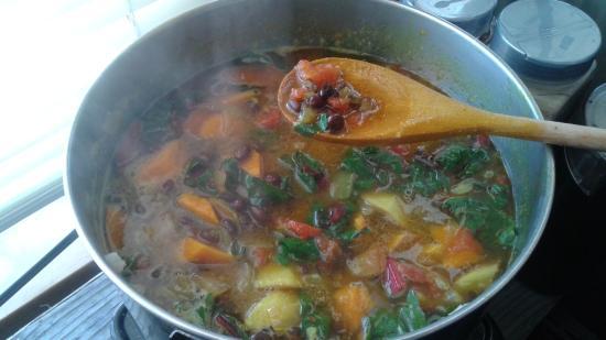 Garibaldi, Oregón: They had super hot and fresh soups when I visited.