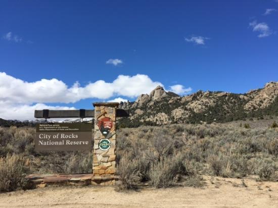 Almo, Айдахо: Welcome to the City of Rocks