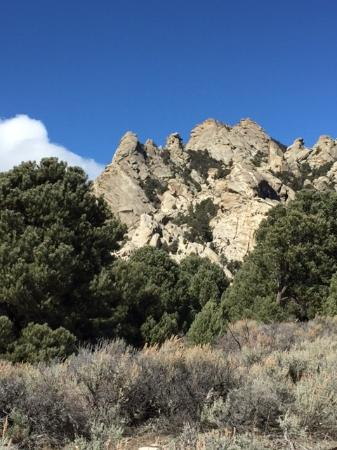 Almo, Айдахо: Rock formations