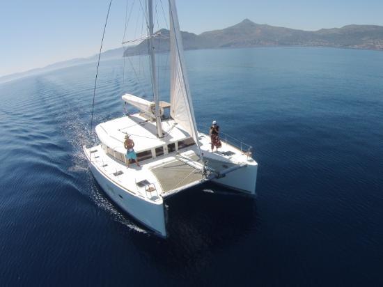 Naxos Yachting Catamaran Danae