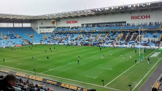 Coventry, UK : Matchday at the Ricoh!