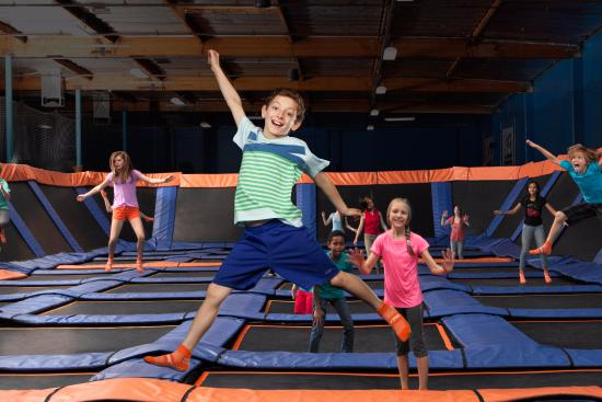 Timonium, MD: Open jump available for all ages