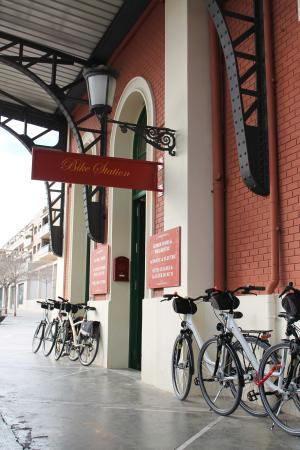 El Moli Tours : Our Bike Station and welcome centre in Vilafranca del Penedès