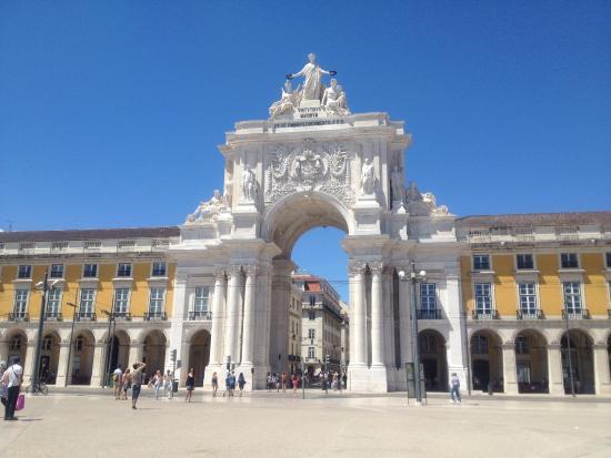 Braga District, Πορτογαλία: Arco da rua augusta, conjunto monumental do Terreiro do Paço (Lisboa)