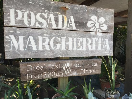 Posada Margherita: Lovely lunch, authentic and fresh!