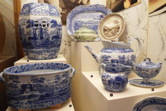 The Spode Museum Trust Heritage Centre: Transfer printed ware illustrating the Grand Tour of Europe