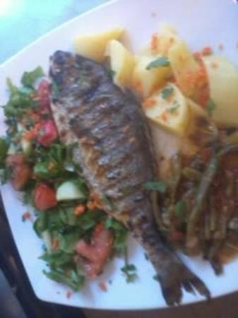 Hellinikon Restaurant : sea-bream on the grill