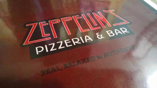 Zeppelin's Pizzeria & Bar: The logo