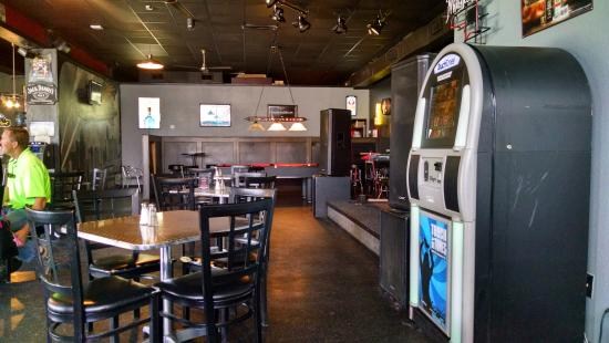 Zeppelin's Pizzeria & Bar: From my table toward the stage