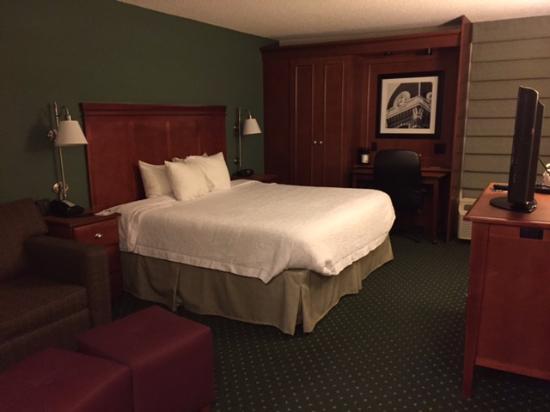 Hampton Inn Washington : Remarkable King room!!!