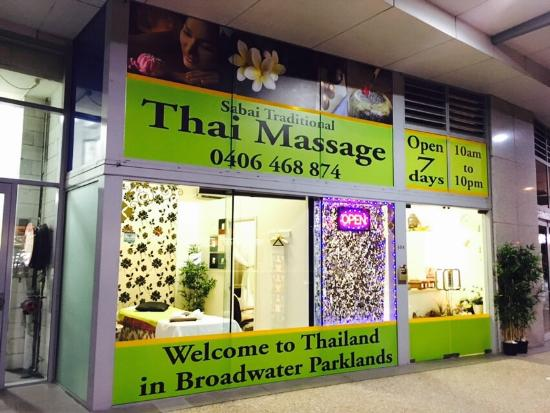 Sabai traditional thai massage Broadwater Parklands