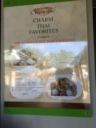 charm thai restaurant at inn resort picture of