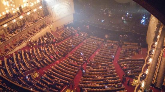 Auditorium theater Seating Chart