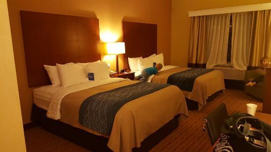 Comfort Inn & Suites Franklin: 20160414_214511_large.jpg