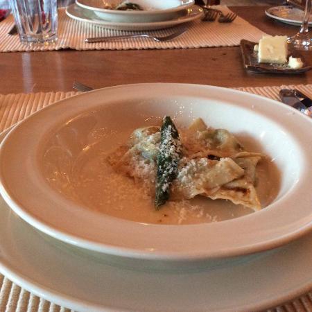 Rose Valley Lodge & Restaurant : Kale Ravioli
