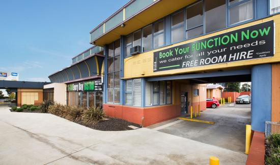Fawkner, Australien: Motel Entrance
