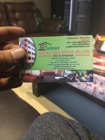 バックヤード ホテル Image