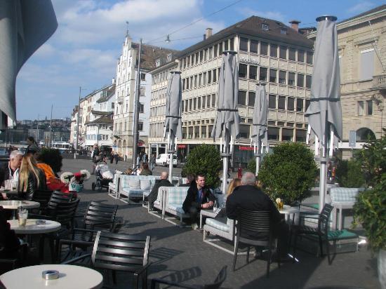 Terrasse Zurich Brunch : Rathaus Bar and Terrasse Picture of Rathaus Cafe, Zurich