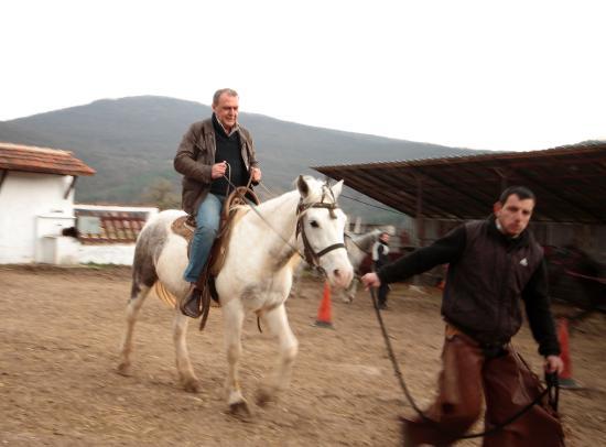 Región de Sofía, Bulgaria: A horse rider