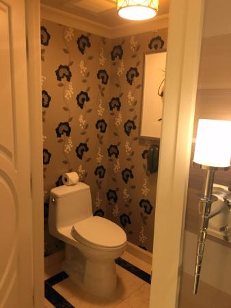 The Palazzo Resort Hotel Casino  Separate Toilet from Rest of Bathroom was Very Nice. Separate Toilet from Rest of Bathroom was Very Nice   Picture of