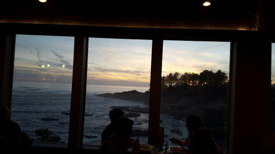 Depoe Bay, Oregón: View from the restaurant