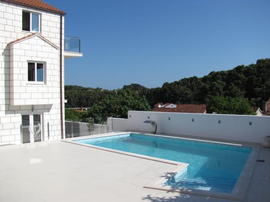 Tarle Apartments: Apartments with swimming pool in Korcula Town