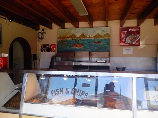 St. Helena Bay, แอฟริกาใต้: Best Fish and Chips!