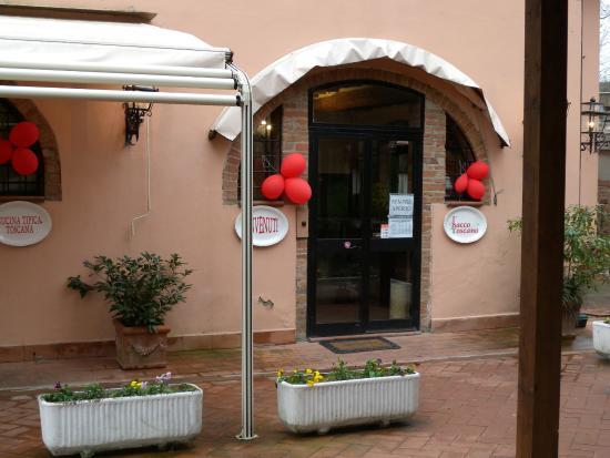 Montespertoli, Italien: Ingresso al Ristorante