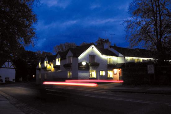 Bridge Hotel: Evening view