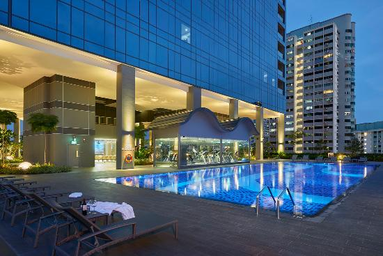 Swimming Pool Picture Of Hotel Boss Singapore Tripadvisor