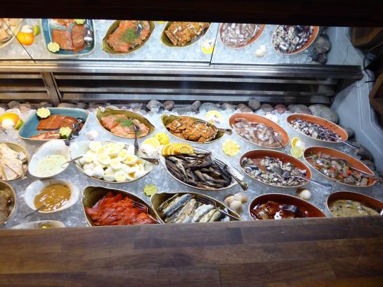 A choice from the buffet picture of origo hanko for Seafood bar zurich