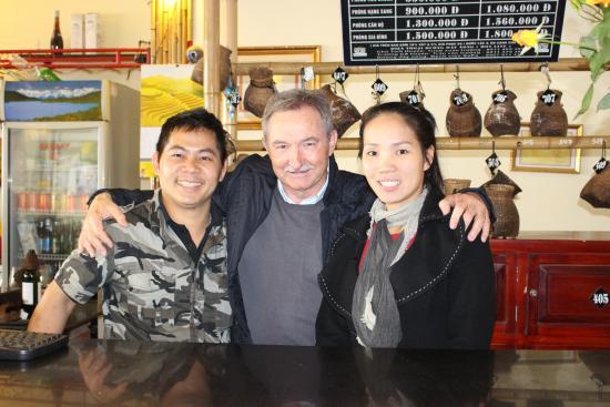 Boutique Sapa Hotel restaurant: La Gérante, le Chef et moi...