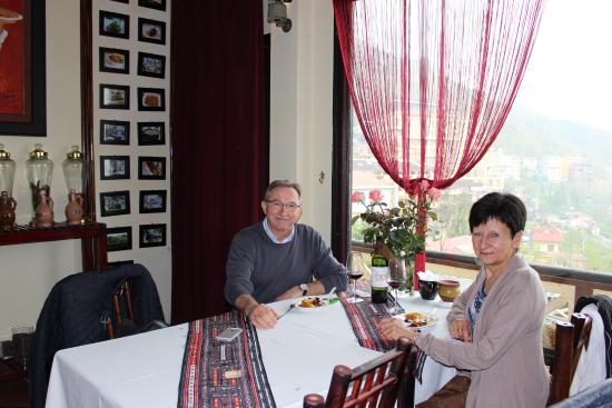 Boutique Sapa Hotel restaurant: Pour nos 30 ans de mariage.