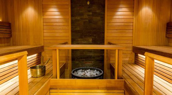 Joensuu, فنلندا: Sauna